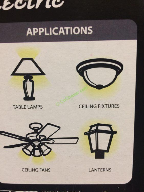 Costco Feit Led Patio Lights: Feit Electric LED 60W Replacement Daylight 10 Pack