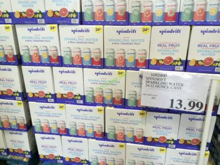 Spindrift Sparkling Water 24 12 Ounce Cans Costcochaser