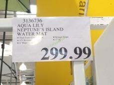 Aqua Lily Neptune S Island Water Mat Costcochaser