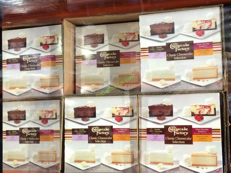 Cheesecake Factory Assorted Cheesecakes 3 25 Pound Box
