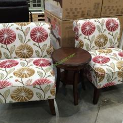 Ave Six Chair Rattan Or Wicker Chairs 3pc And Table Set Costcochaser Costco 1075078