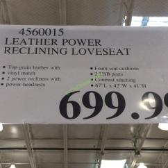 Two Cushion Power Reclining Sofa Leather Sofas In San Antonio Tx Loveseat – Costcochaser
