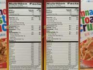 Costco-734786-General-Mills-Honey-Nut-Cheerios-chart