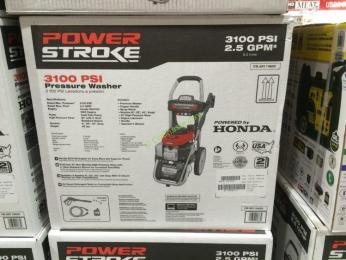 Powerstroke 3100 Psi Honda Powered Gas Pressure Washer