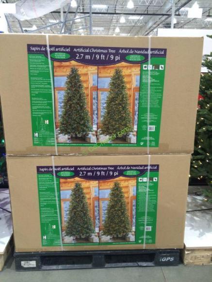 Costco-1455658-Pre-Lit-LE- EZ-Connect-Dual-Color-Christmas-Tree