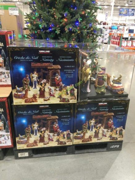 Kirkland Signature Nativity 13 Piece Set Costcochaser
