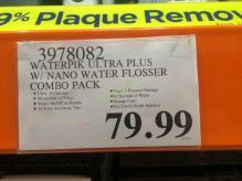 Costco-3978082-Waterpik-Ultra-Plus-with-Nano-Water-Flosser-Combo-tag