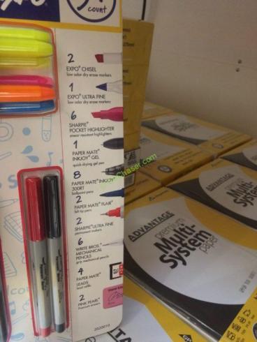 Costco-413772-Pape-Mate-Sharpie-Writing-Essentials-part