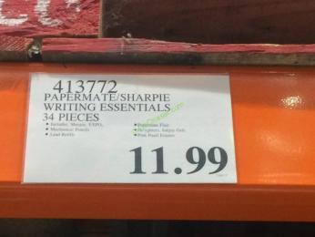 Costco-413772-Pape-Mate-Sharpie-Writing-Essentials-tag