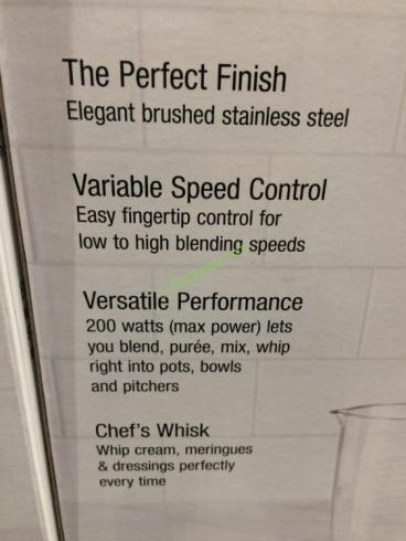 Cuisinart Smart Stick Variable Speed Hand Blender Model