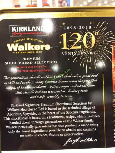Kirkland Signature Walkers Premium Shortbread Selection 74