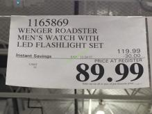 Costco-1165869-Wenger-Roadster-Men's-Watch-tag