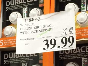 Costco-1184042-Winplus-Deluxe-Shop-Stool-with-Back-Support-tag