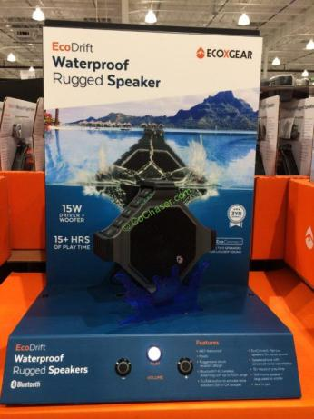 ECOXGEAR EcoDrift Waterproof Bluetooth Speaker – CostcoChaser