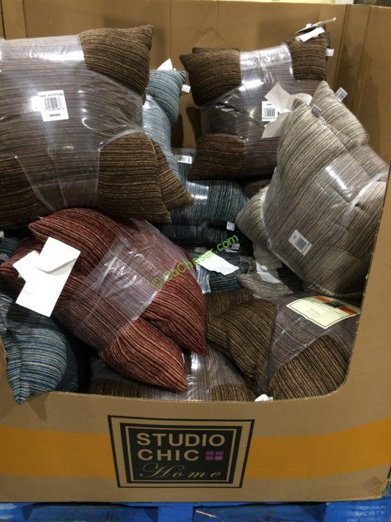 Studio Chic Home Decorative Pillow 2 Pack  CostcoChaser