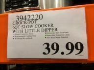 Costco-3942220-Crock-Pot-6QT-Slow-Cooker-with-Little-Dipper-tag