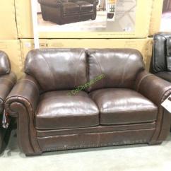 Costco Leather Sofa Canada Lexington Furniture Ashton Simon Li & Loveseat – Costcochaser