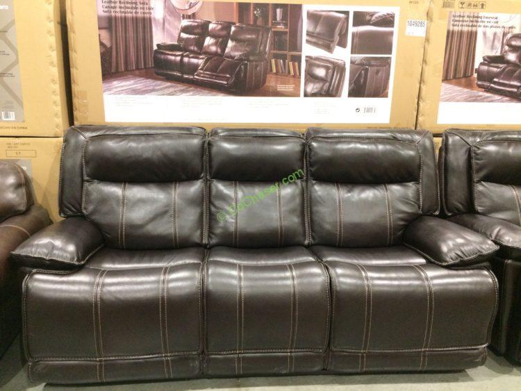 leather reclining sofa loveseat