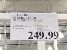 Synergy Home Sleeper Ottoman Costcochaser