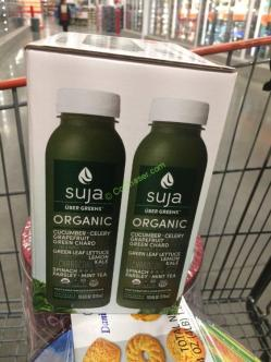 Suja Organic Uber Greens 6 10 5 Ounce Bottles Costcochaser
