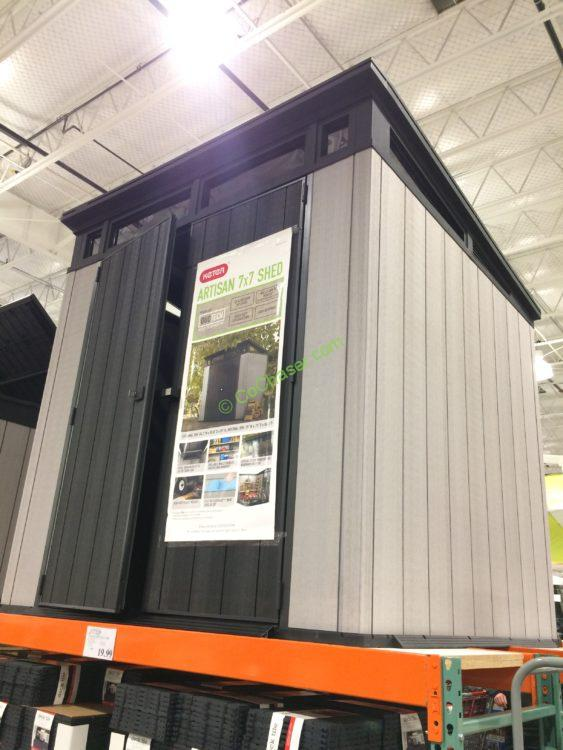 Keter 7 X 7 Resin Outdoor Storage Shed  CostcoChaser