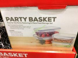 Costco-1187283- IGLOO-Party-Basket-8PC-Plasticware-Set