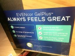 Novaform Comfort Grande With Evencor Queen Mattress Costcochaser