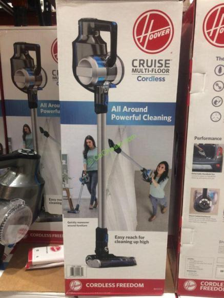 Hoover Cruise Multi Floor Cordless Ultra Light Vacuum
