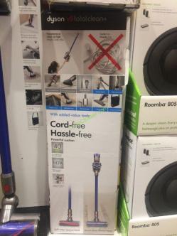 Costco-1166767- Dyson V8 Total Clean Cordless Vacuum-box