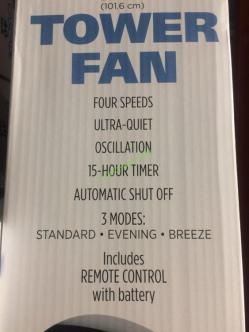 Costco-3013422-Cascade-40-Tower-Fan-with-Remote-face