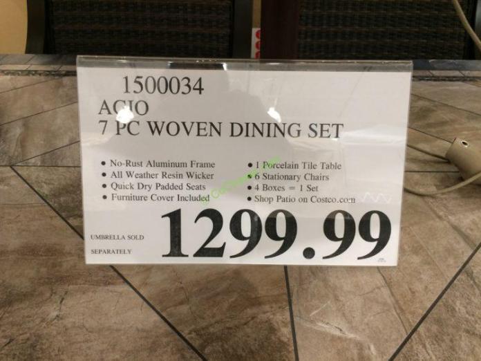 Costco-1500034-Agio-7PC-Woven-Dinning-Set-tag