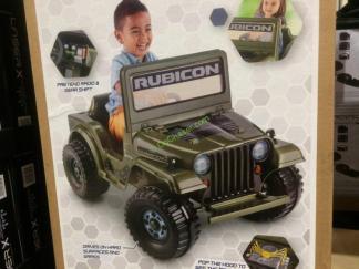 Power Wheels Jeep Rubicon Wrangler 6v Ride On Model Fxm32 9993 Costcochaser