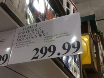 Northrock Xc00 Fat Tire Mountain Bike Costcochaser
