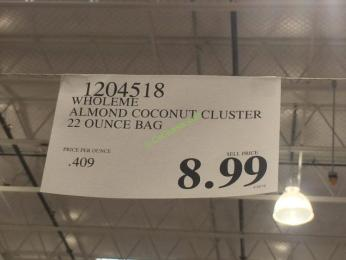 Costco-1204518-Wholeme -Almond –Coconut-Cluster-tag