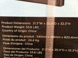 Costco-1075044-Hisense-4.4CUFT-Compact-Fridge-Black-Glass-Door-spec1