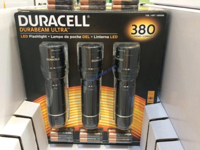 duracell 380 lumen flashlights