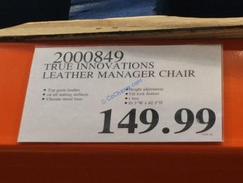 Costco-2000849-True-Innovations-Leather-Manager-Chair-tag