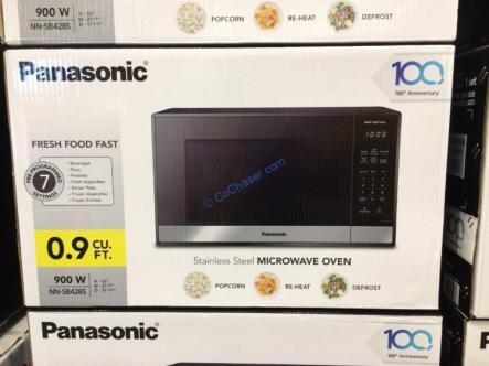 Costco-1229367- Panasonic-NN-SB428S-Microwave-Oven-0.9-Cubic-Foot-1