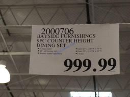 Costco-2000706-Bayside-Furnishings-9PC-Counter-Height-Dining-Set-tag