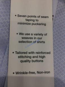 Costco-1110810- Kirkland-Signature-Men-Button-Down-Dress-Shirt-spec