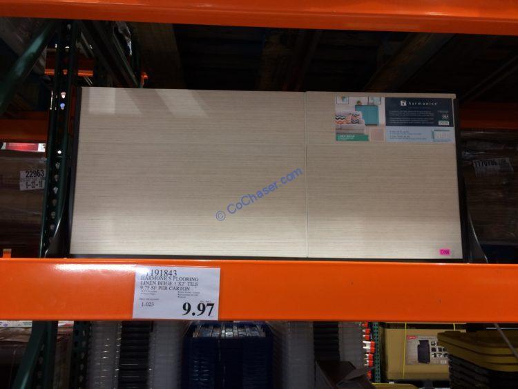 harmonics flooring line beige 1 x 2
