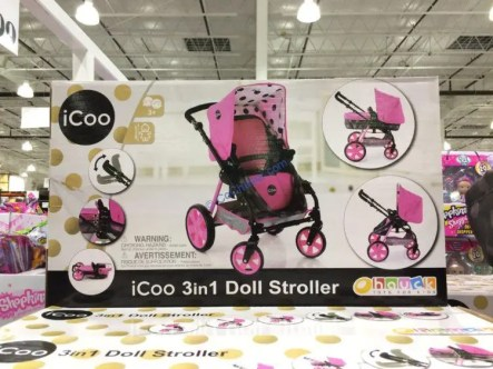Costco-1197493-iCoo-3-in-1-Doll-Stroller1