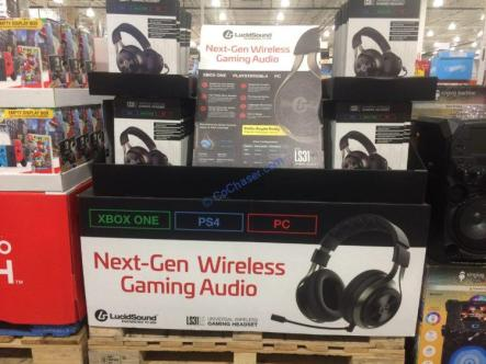 Costco-1273553-LucidSound-LS31-LE-Universal-Wireless-Gaming-Headset-all