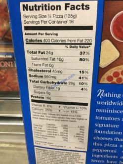 Costco-607237-Kirkland-Signature-Pepperoni-Pizza-chart
