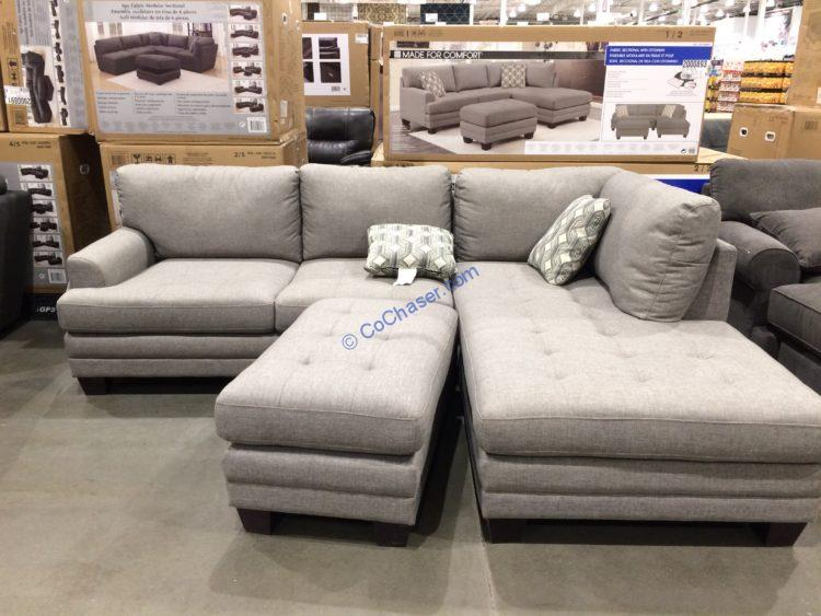true innovations fabric sectional with
