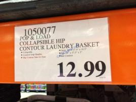 Costco-1050077-POP-LOAD-Collapsible-Hip-Contour-Laundry-Basket-tag