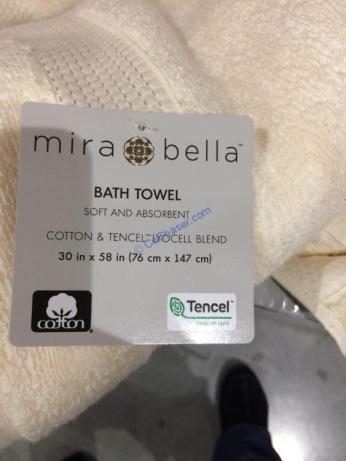 Costco-1265690-Mira-Bella-Assorted-Colors-Bath-Towel