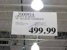 Costco-2000914-Craft-Main-70-Accent-Console-tag