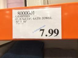 Costco-8000001-Charisma-Gun-Metal-Bath-Towel-tag
