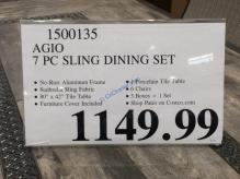 Costco-1500135-Agio-7PC-Sling-Dining-Set-tag